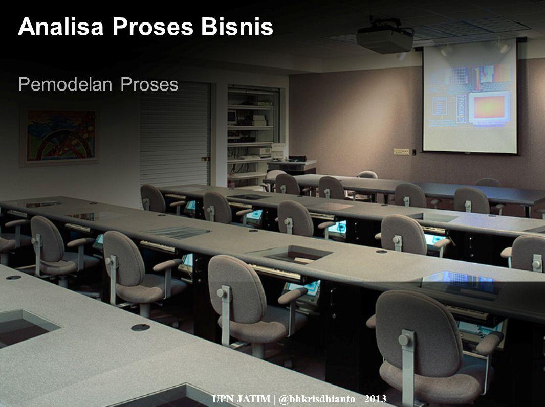 Analisa Proses Bisnis Pemodelan Proses