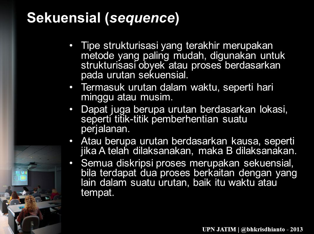 Sekuensial (sequence)