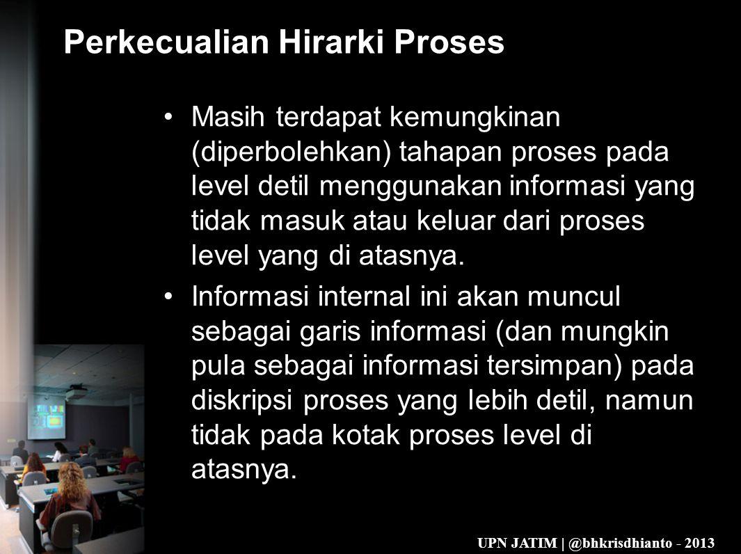Perkecualian Hirarki Proses