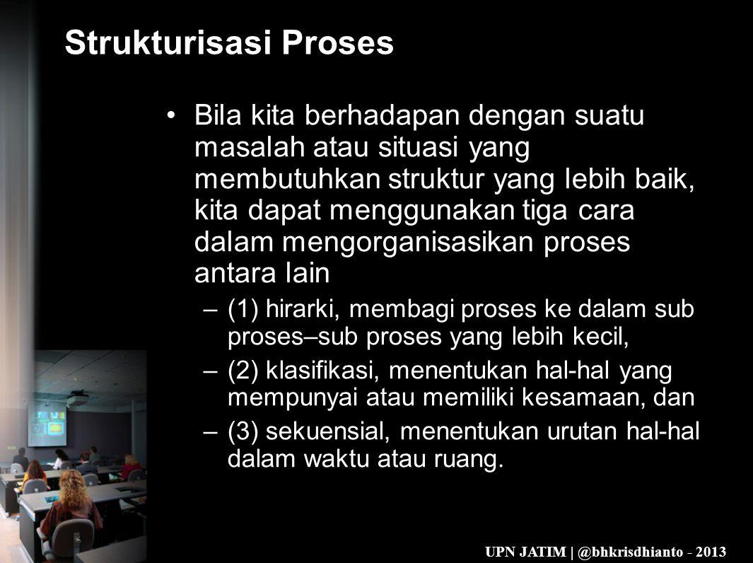Strukturisasi Proses
