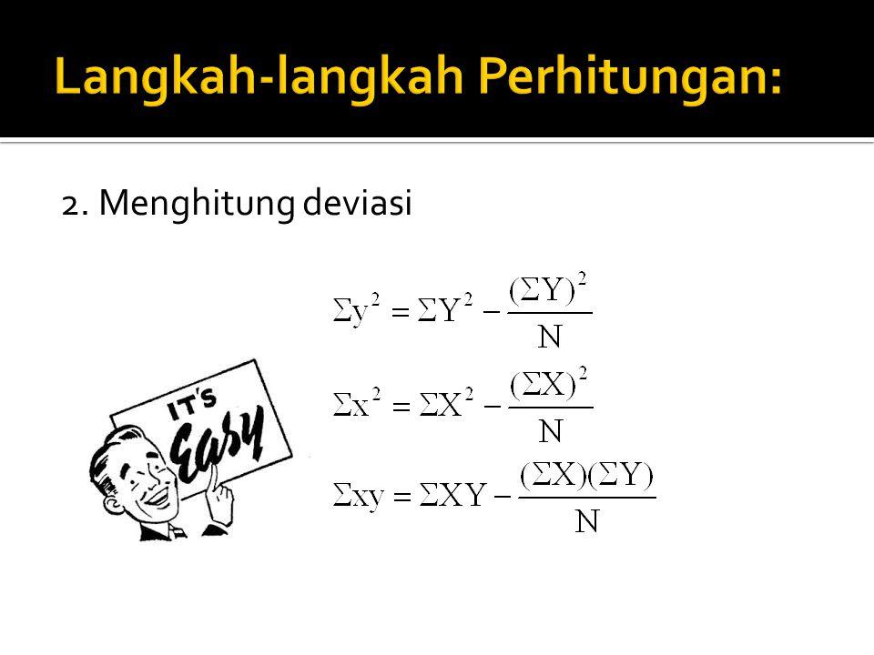 Langkah-langkah Perhitungan: