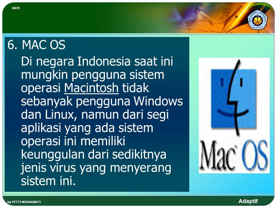 KKPI 6. MAC OS.
