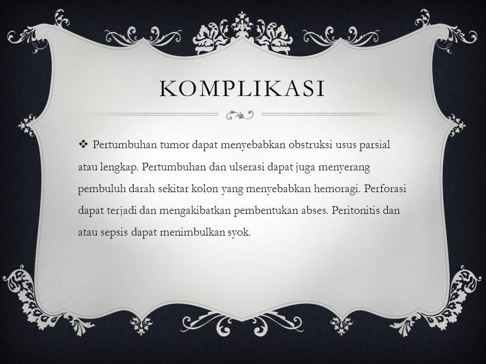 KOMPLIKASI