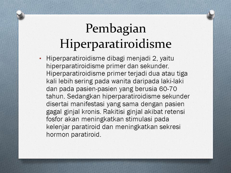 Pembagian Hiperparatiroidisme