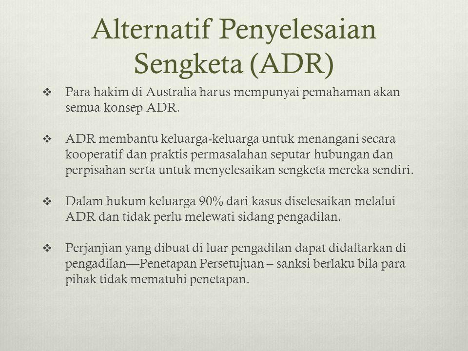 Alternatif Penyelesaian Sengketa (ADR)