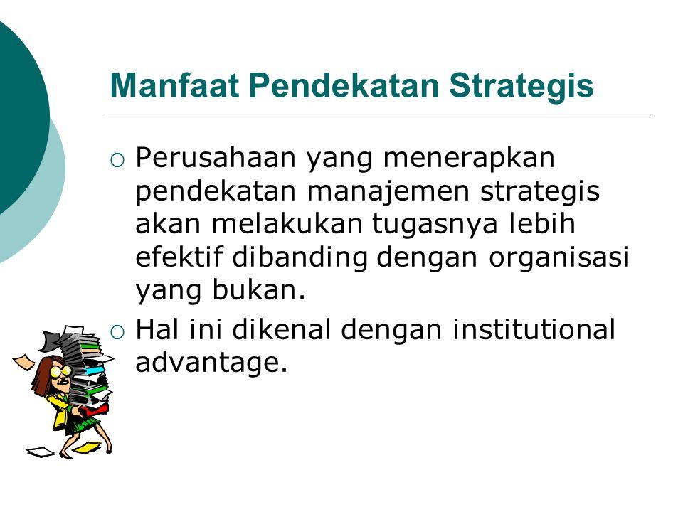 Manfaat Pendekatan Strategis