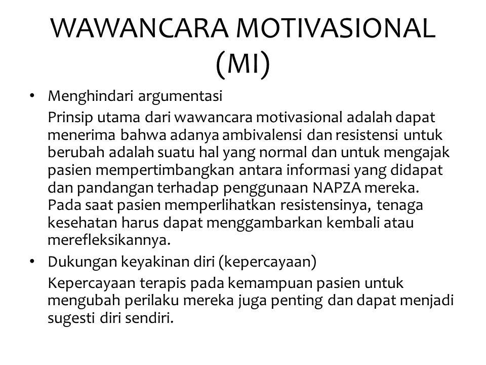 WAWANCARA MOTIVASIONAL (MI)