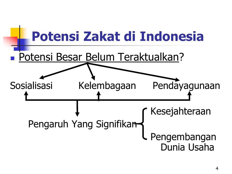 Potensi Zakat di Indonesia