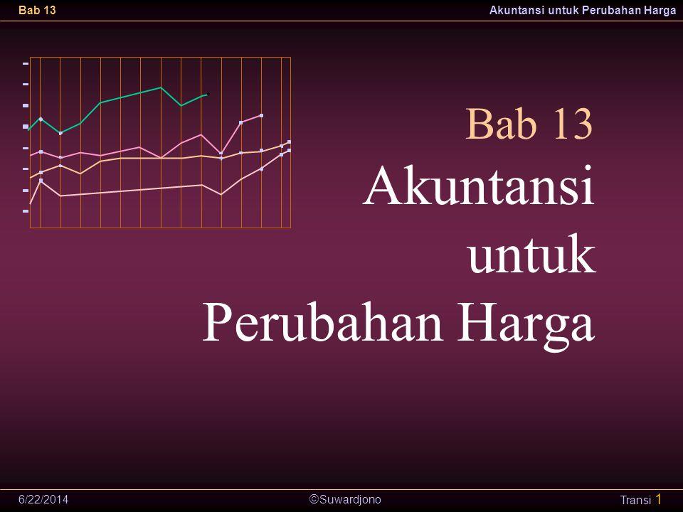 Bab 13 Akuntansi untuk Perubahan Harga 4/2/2017