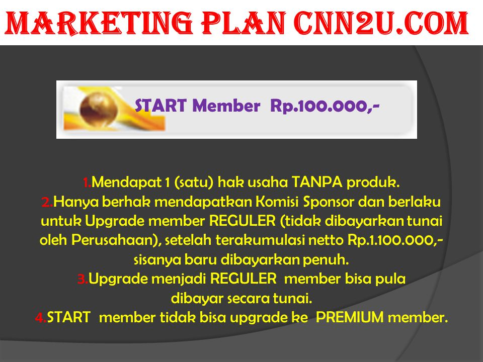 MARKETING PLAN CNN2U.COM