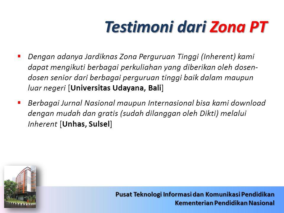 Testimoni dari Zona PT
