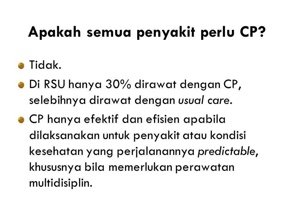 Apakah semua penyakit perlu CP