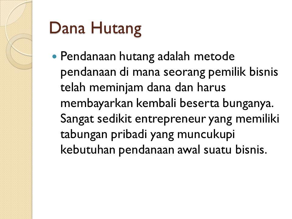 Dana Hutang