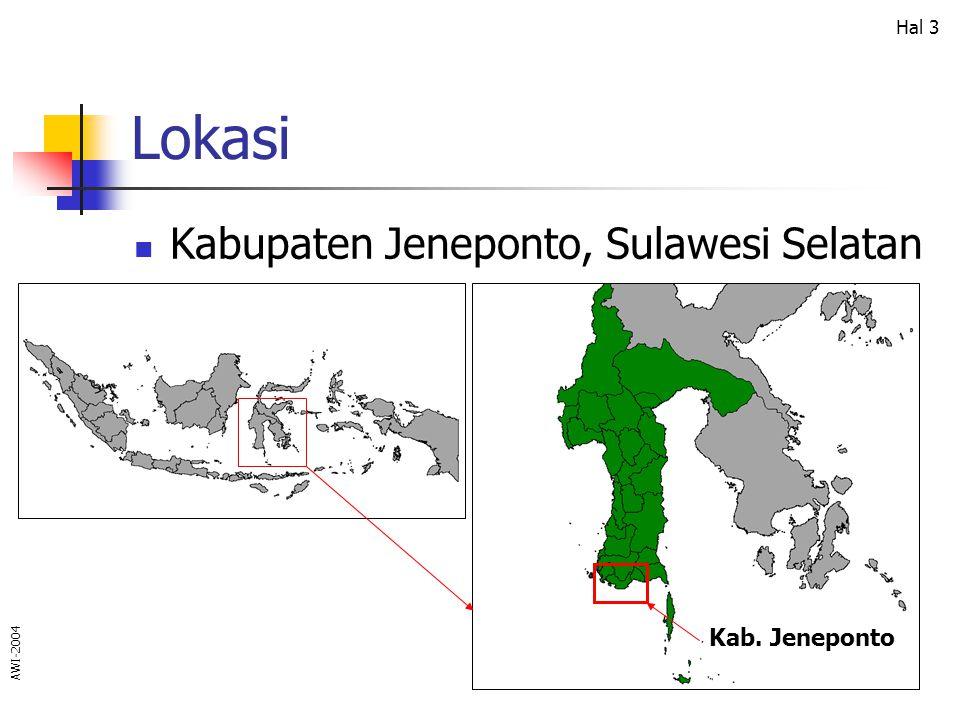 Lokasi Kabupaten Jeneponto, Sulawesi Selatan Kab. Jeneponto