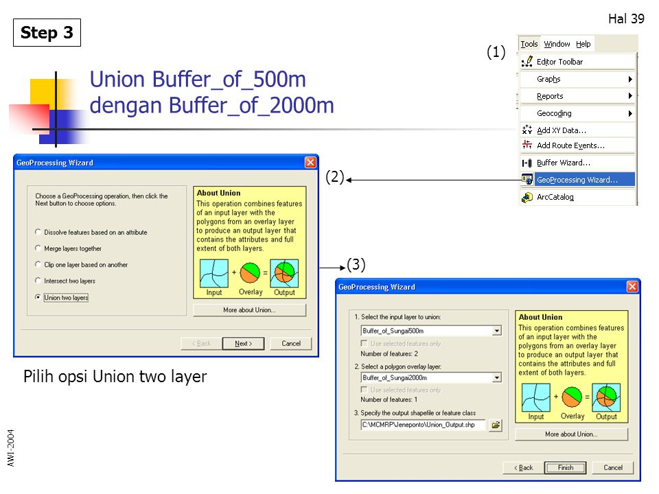 Union Buffer_of_500m dengan Buffer_of_2000m
