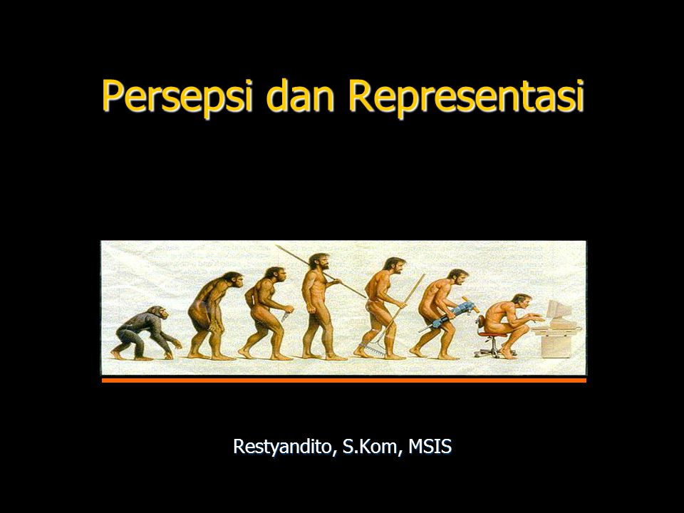 Persepsi dan Representasi