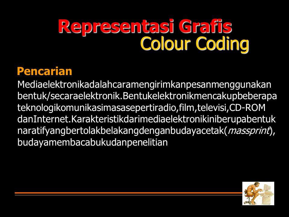 Representasi Grafis Colour Coding Pencarian