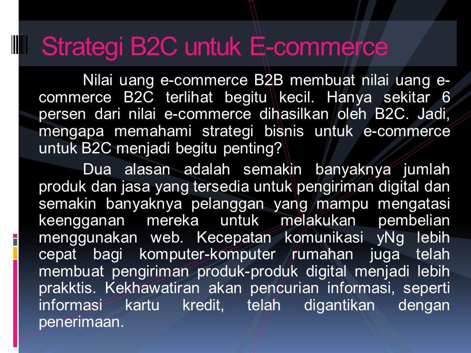 Strategi B2C untuk E-commerce