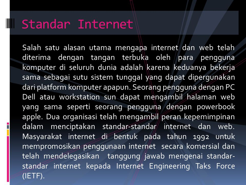 Standar Internet