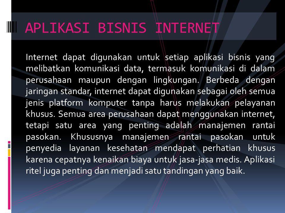APLIKASI BISNIS INTERNET