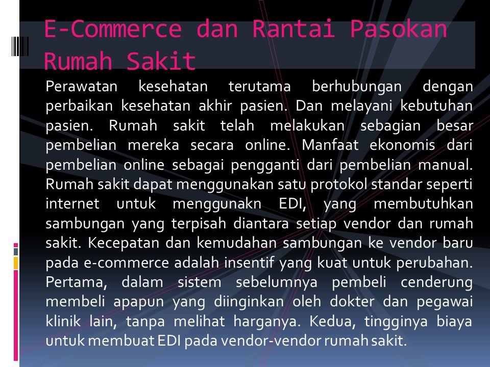 E-Commerce dan Rantai Pasokan Rumah Sakit