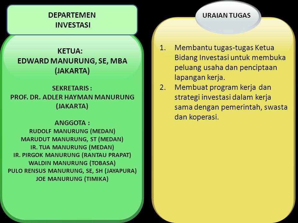 PROF. DR. ADLER HAYMAN MANURUNG (JAKARTA)