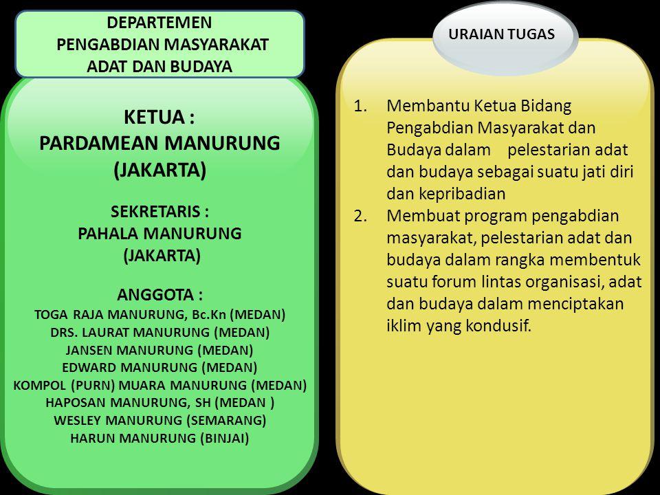 PARDAMEAN MANURUNG (JAKARTA)