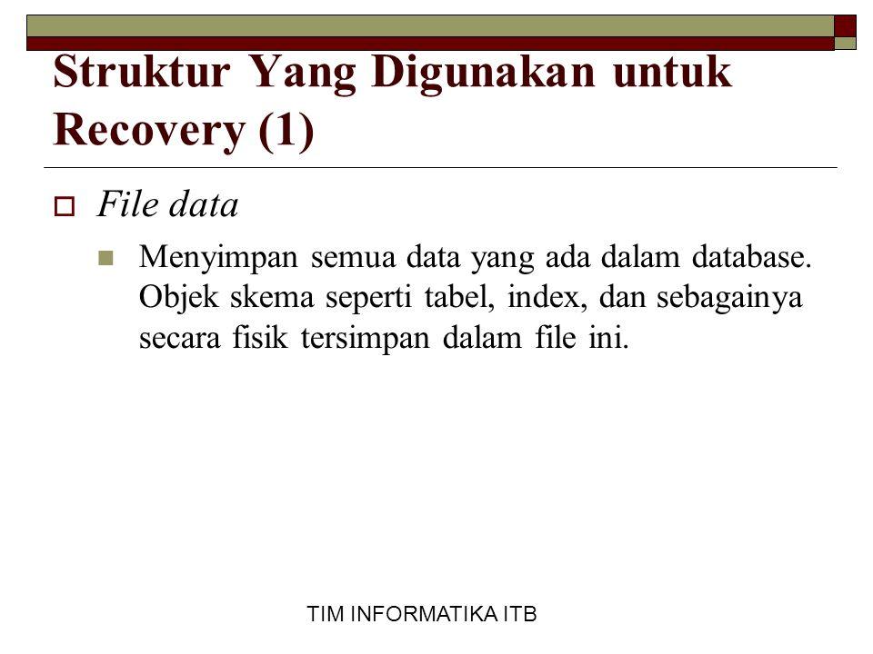 Struktur Yang Digunakan untuk Recovery (1)