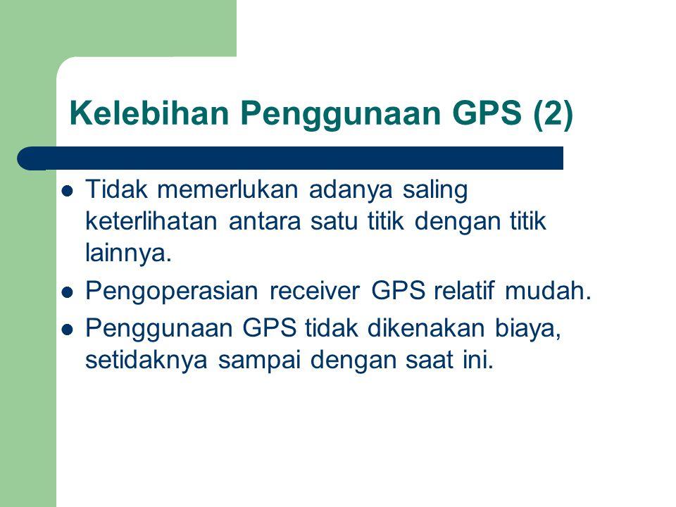 Kelebihan Penggunaan GPS (2)