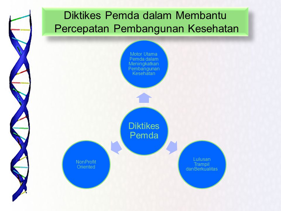 Diktikes Pemda dalam Membantu Percepatan Pembangunan Kesehatan