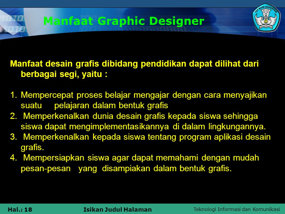 Manfaat Graphic Designer