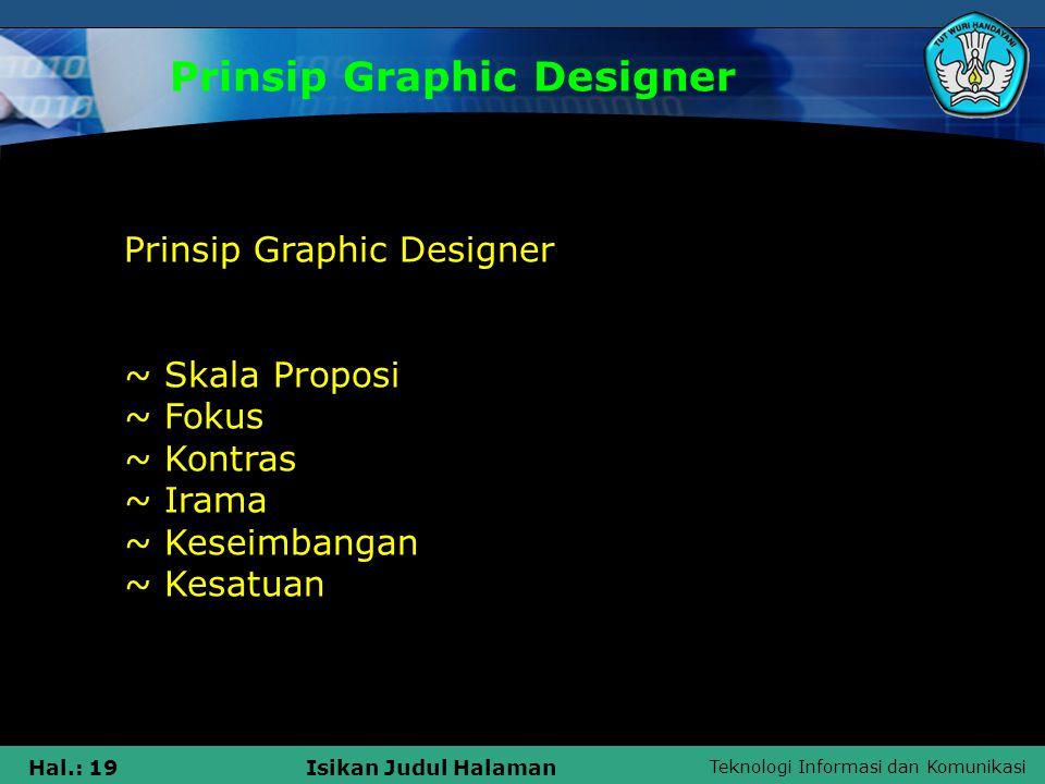 Prinsip Graphic Designer