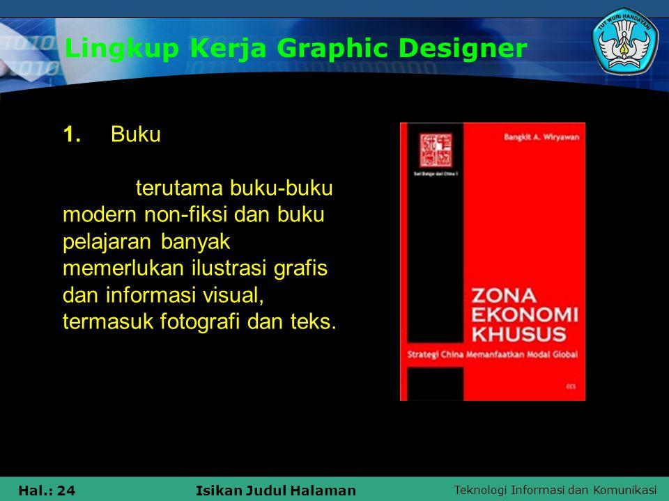 Lingkup Kerja Graphic Designer