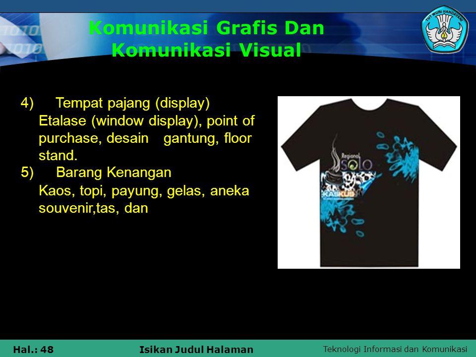Komunikasi Grafis Dan Komunikasi Visual