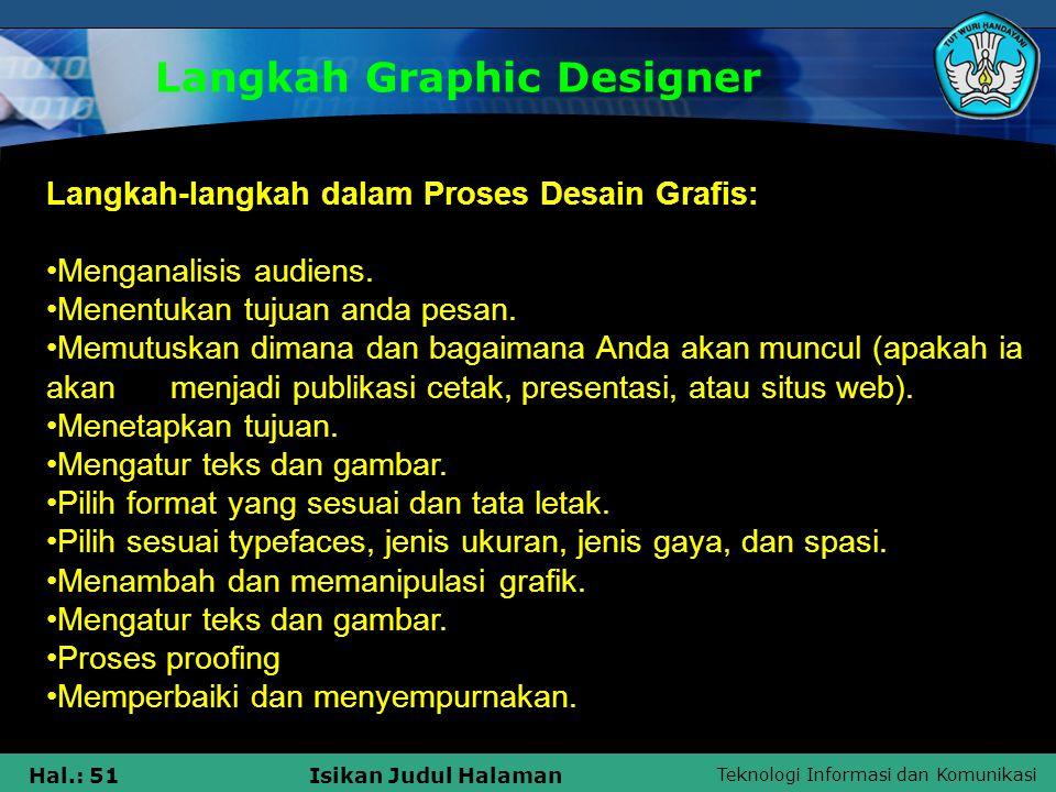 Langkah Graphic Designer