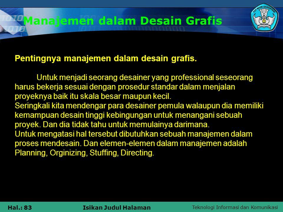 Manajemen dalam Desain Grafis