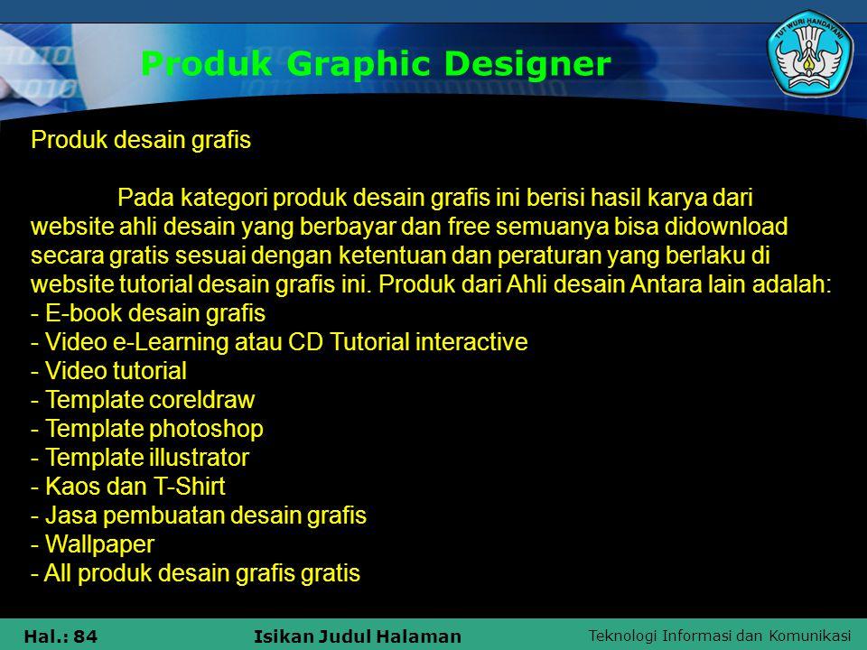 Produk Graphic Designer