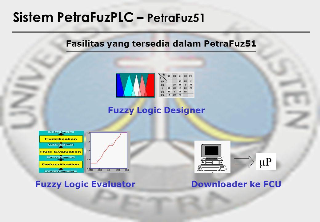 Fasilitas yang tersedia dalam PetraFuz51
