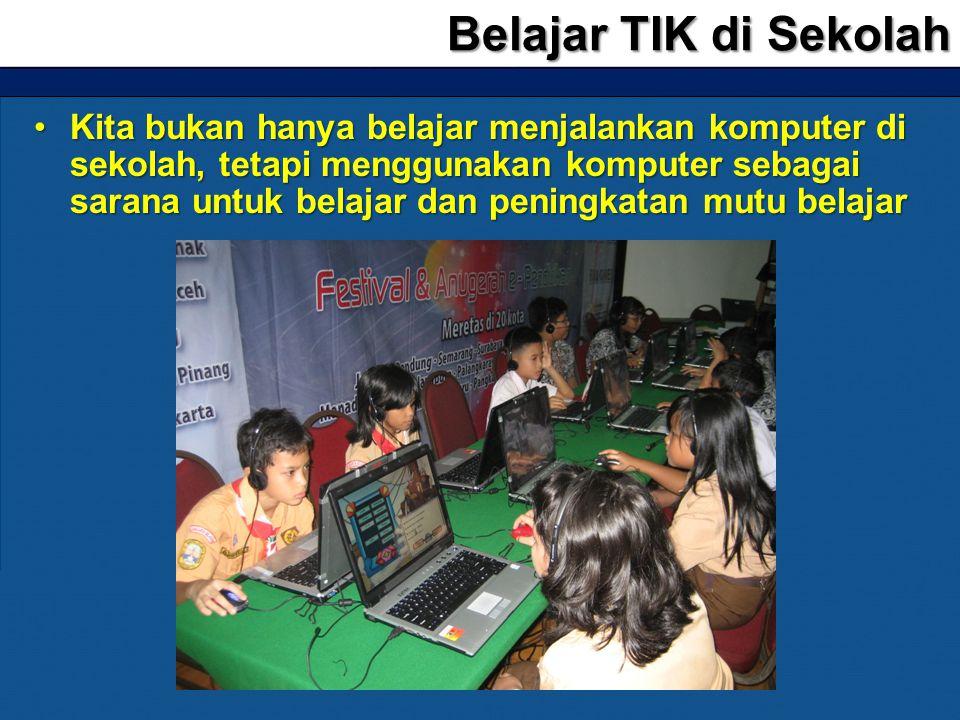 Belajar TIK di Sekolah
