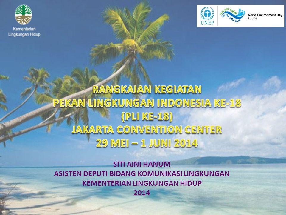 PEKAN LINGKUNGAN INDONESIA KE-18 (PLI KE-18) JAKARTA CONVENTION CENTER