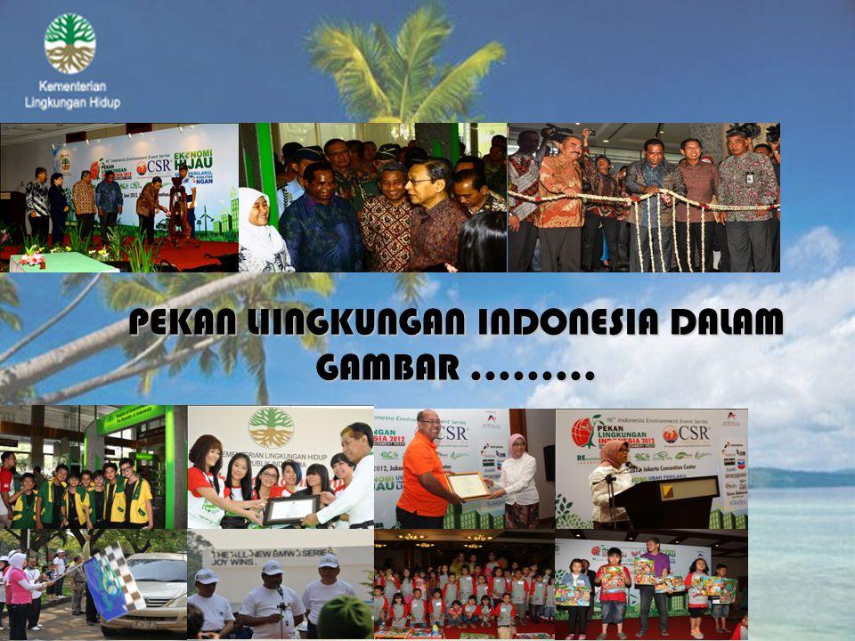 PEKAN LIINGKUNGAN INDONESIA DALAM GAMBAR .........