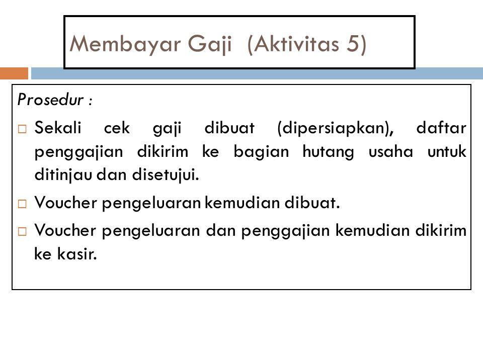 Membayar Gaji (Aktivitas 5)
