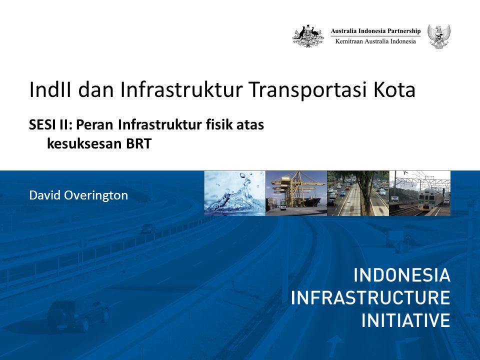 IndII dan Infrastruktur Transportasi Kota