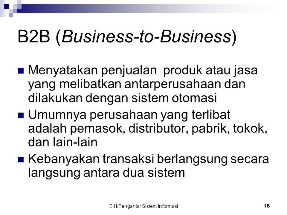 B2B (Business-to-Business)