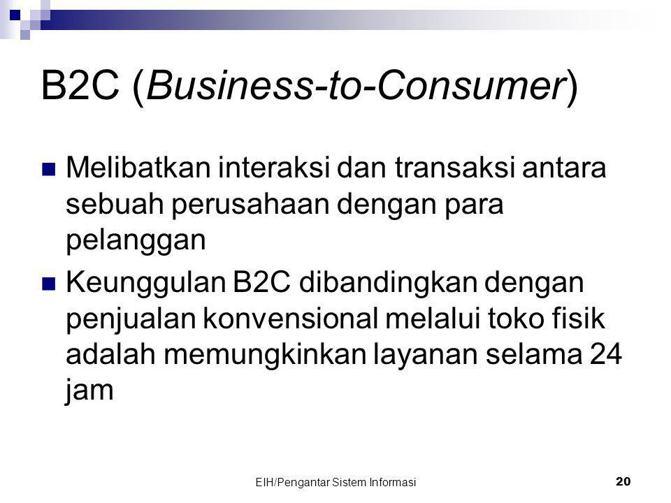 B2C (Business-to-Consumer)