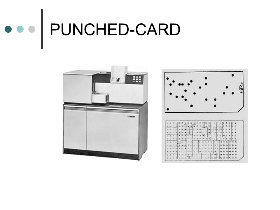 PUNCHED-CARD