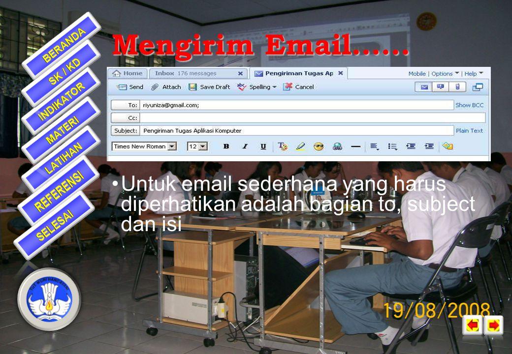 Mengirim Email......