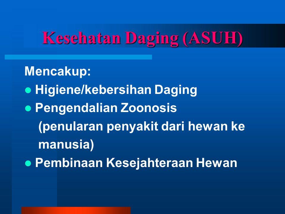 Kesehatan Daging (ASUH)