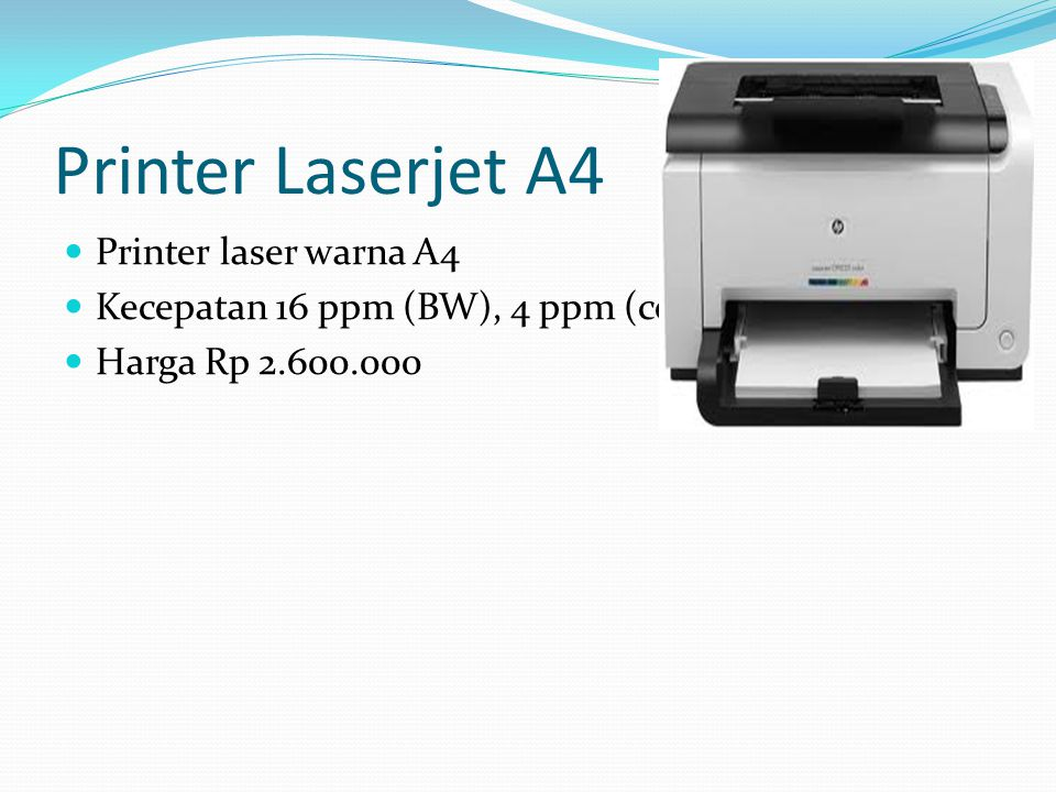 Printer Laserjet A4 Printer laser warna A4
