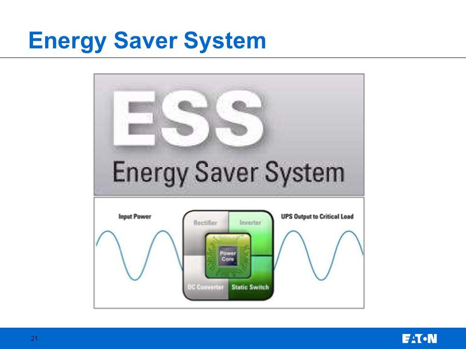 Energy Saver System